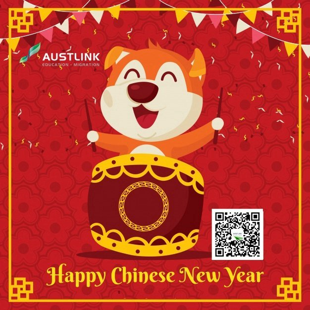 chinese-new-year-background-with-playful-dog_23-2147743266
