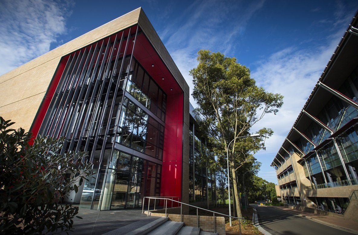 Photos show the new Scieces Teaching Building on UOW's main Camopus Wollongong. The building will house Chemistry, Biology, and Earth and Sciences students.